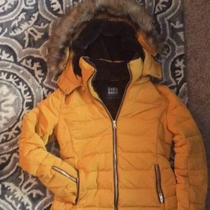 Zara Basic Puffer Jacket